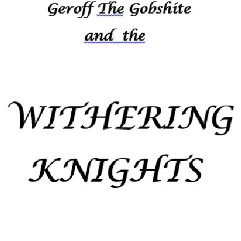 Geroff The Gobshite - Vol 4.
