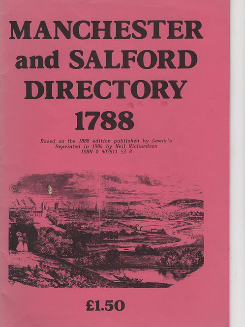 Manchester and Salford Directory 1788