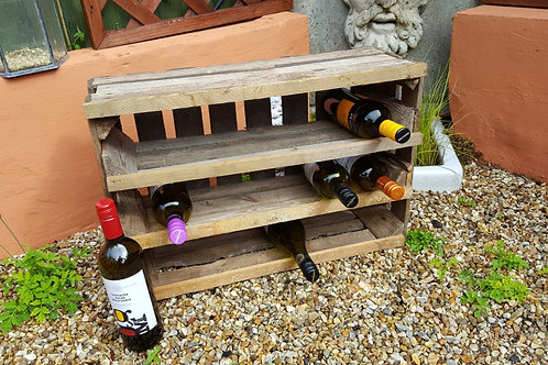 APPLE CRATE WINE RACK