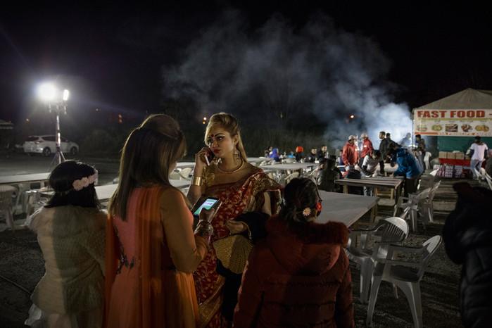 Centocelle. Ogni anno nel mese di aprile la comunità bengalese festeggia il proprio capodanno. Tutti gli abitanti della zona vengono invitati alle celebrazioni che rappresentano una preziosa occasione di socializzazione, incontro e interazione culturale.