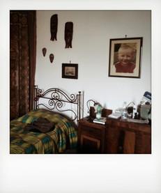 La mia camera da letto. ---- My bedroom.
