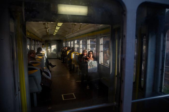 """Il """"trenino"""" Termini-Giardinetti è lo storico mezzo di trasporto per giungere nel cuore di Torpignattara e Centocelle."""