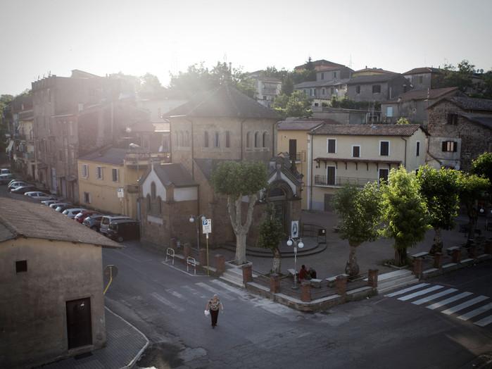 Sacco river Valley, Colleferro (Rome). This area is closely linked to the birth of the industrial pole. ---- Valle del Sacco, Colleferro (Rome). La costruzione di tutta quest'area è strettamente legata alla nascita del polo industriale.