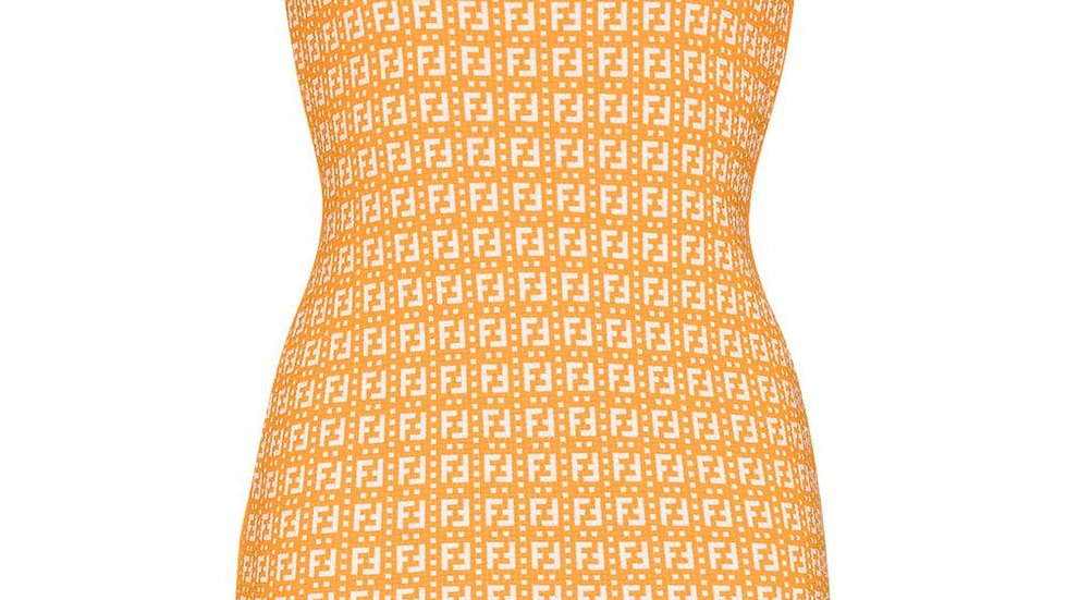 Fendi FF Logo Dress