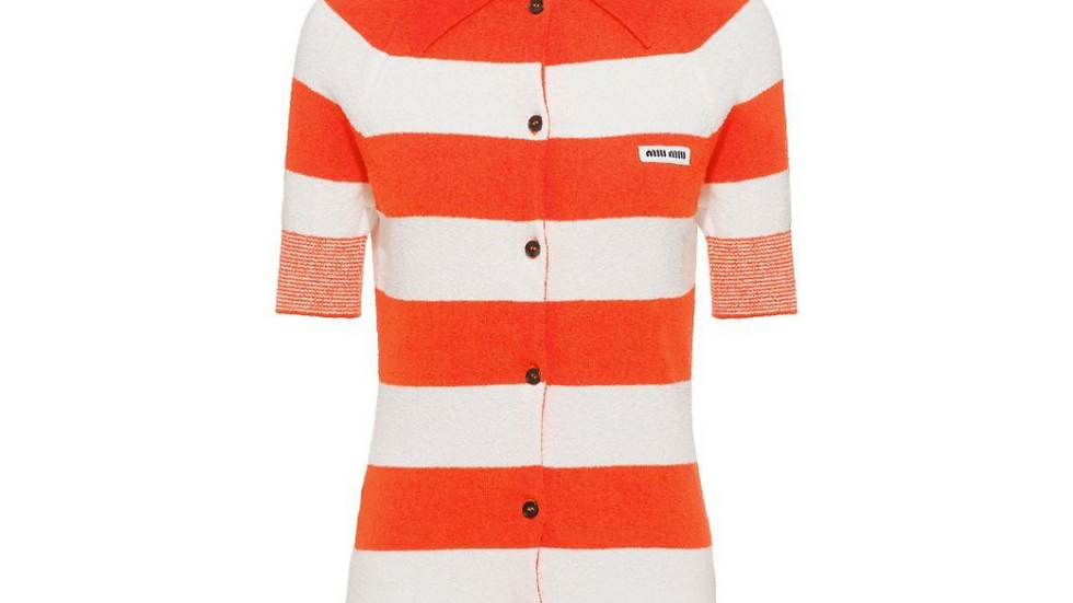 Miu Miu Striped Shirt