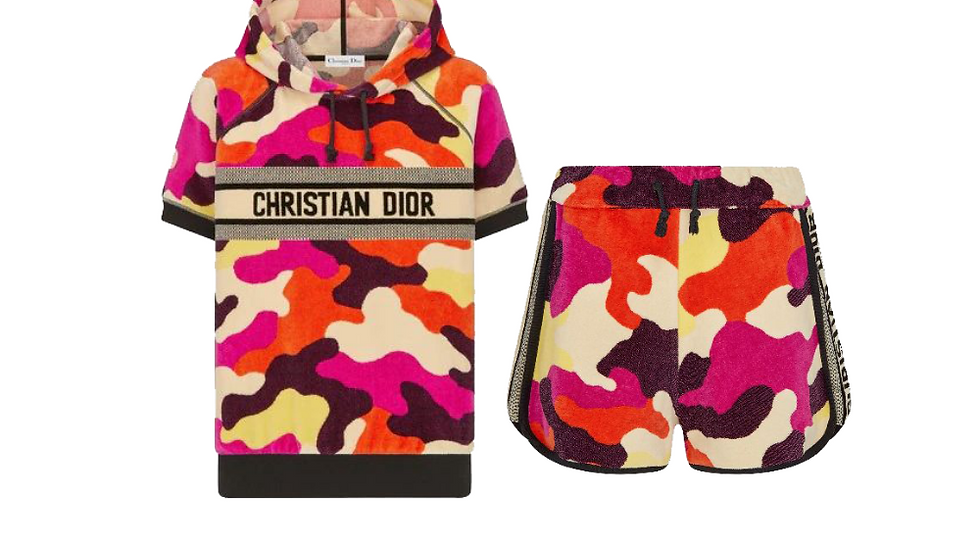 Christian Dior Camouflage Set