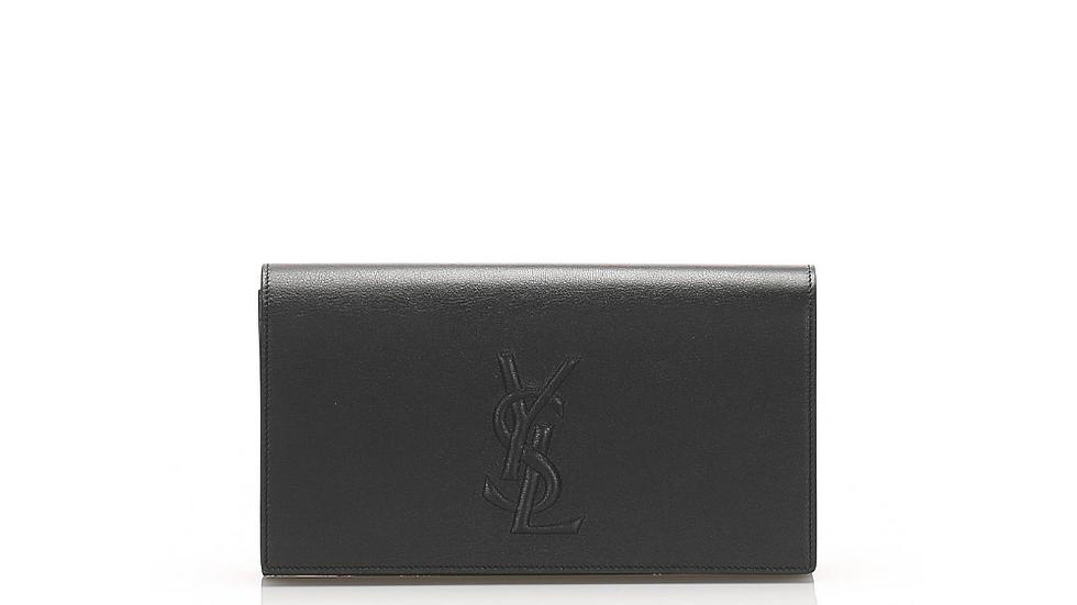 YSL Belle De Jour Leather Clutch