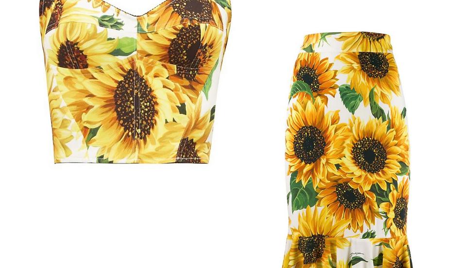 Dolce and Gabbana Sunflower Set