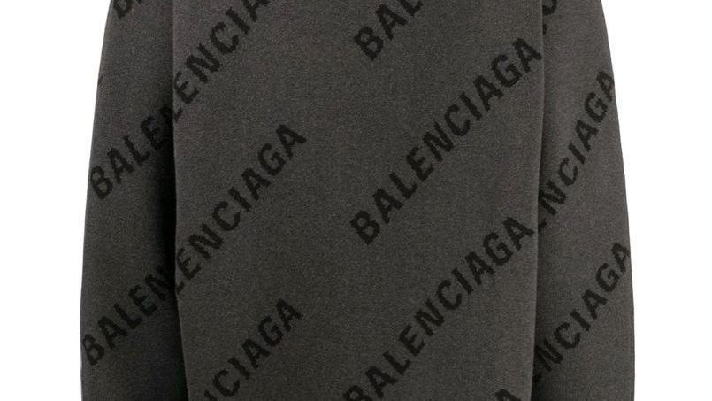 Balenciaga All Over Print Sweater