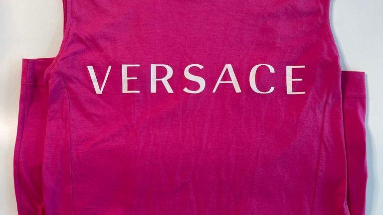 Versace T Shirt Dress