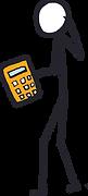 Stickman with Calculator.tif