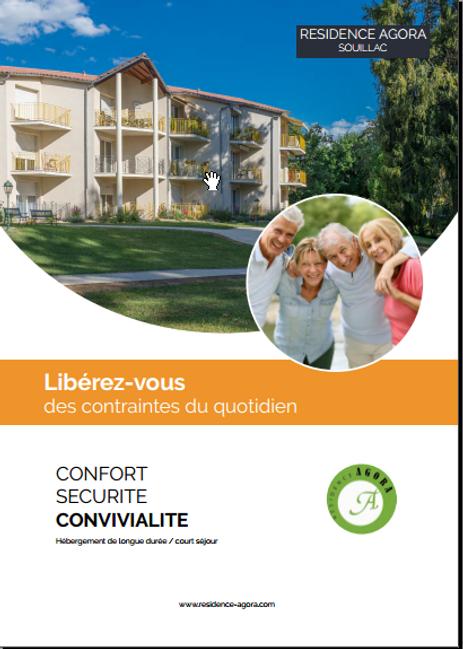brochure residence seniors agora souillac