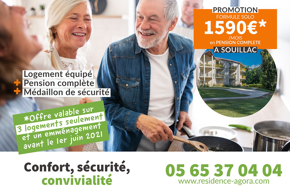 hebergement residence seniors promotion