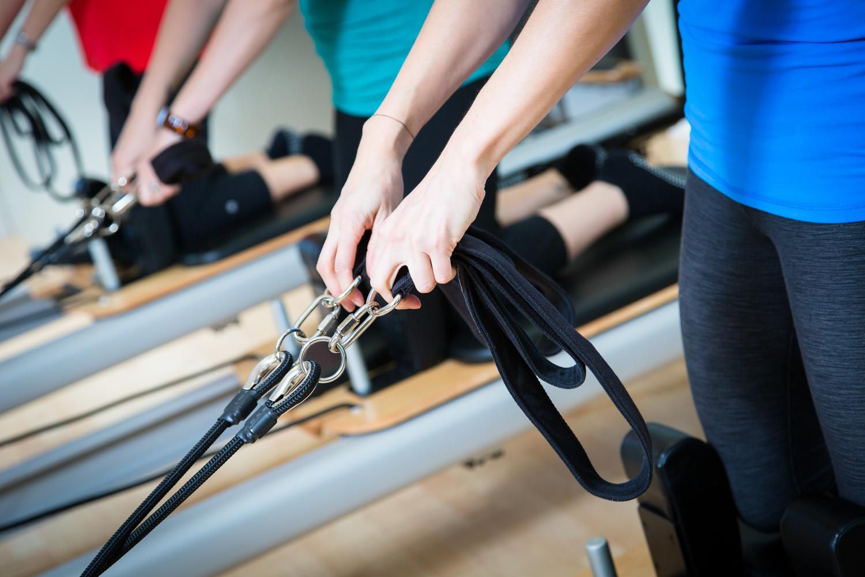 Pilates Reformer hands