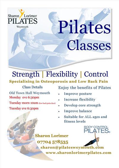 Pilates Classes Weymouth