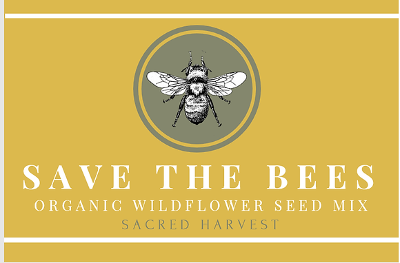 'Save The Bees' Wildflower Seeds