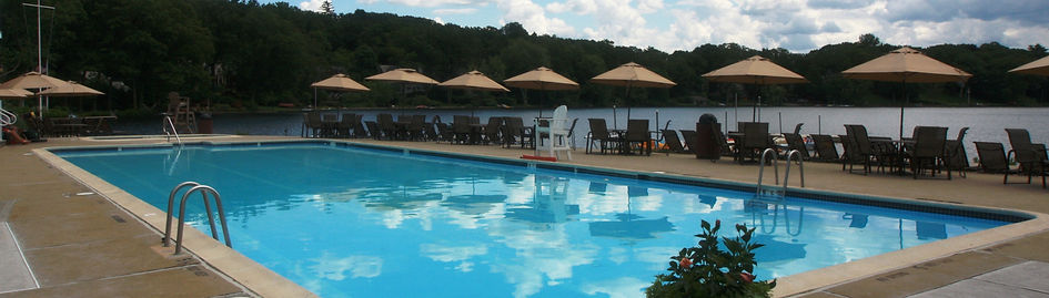 Mountain Lakes Club Pool Lakeside Summer