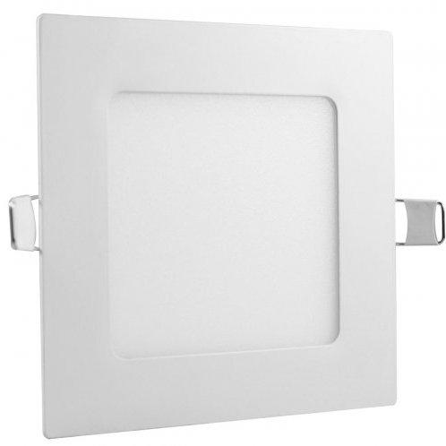 Plafon Quadrado de Embutir 12w Branco Quente