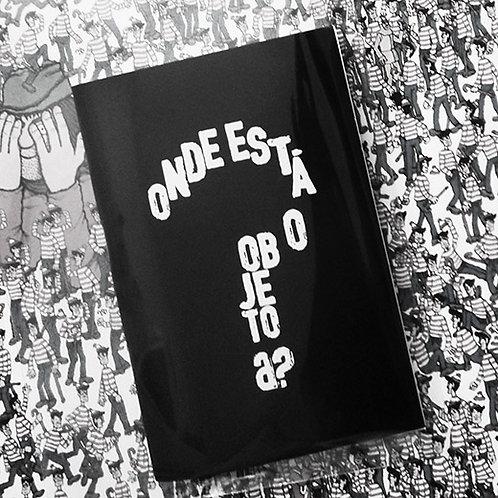 "Caderneta ""ONDE ESTÁ O OBJETO a?"" | brochura"