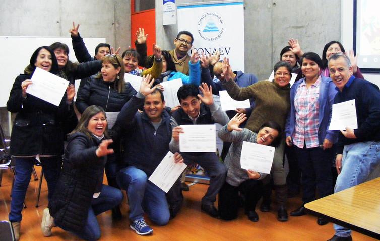 """Cierre Capacitación """"Preparación y planificación de clases: Desafíos pedagógicos y  oportunidad para actualizarse e  innovar"""" 2018"""