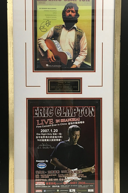 Eric Clapton Live in Shanghai *Signed