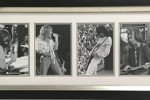 Led Zeppelin photo series *Signed