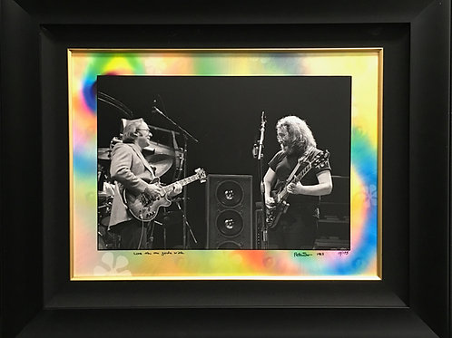 CSN Stephen Stills & David Crosby photo 1983 *Signed