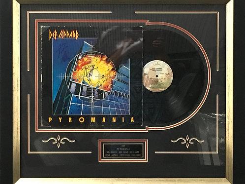 Def Leppard Pyromania LP *Signed