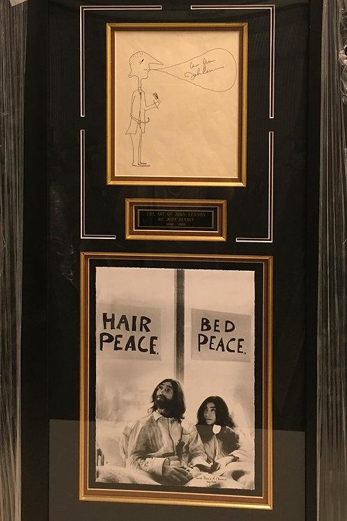 """""""The Art of John Lennon 1940-1980"""" *Signed"""