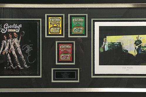 Goodbye Cream LP 1969 *Signed