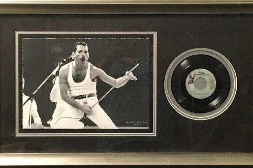 Freddie Mercury Photo and 45