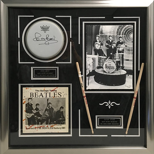 """The Savage Young Beatles"" Ringo Starr & Pete Best *Signed"