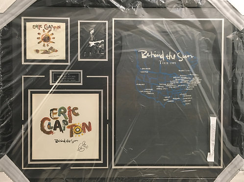 Eric Clapton Behind the Sun 1985 *Signed