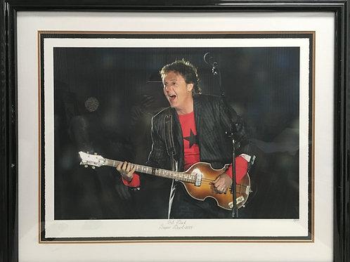 """Paul McCartney """"Get Back Superbowl 2005"""""""