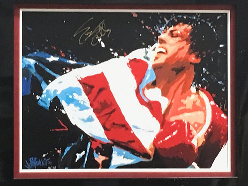 Sylvester Stallone Rocky *Signed
