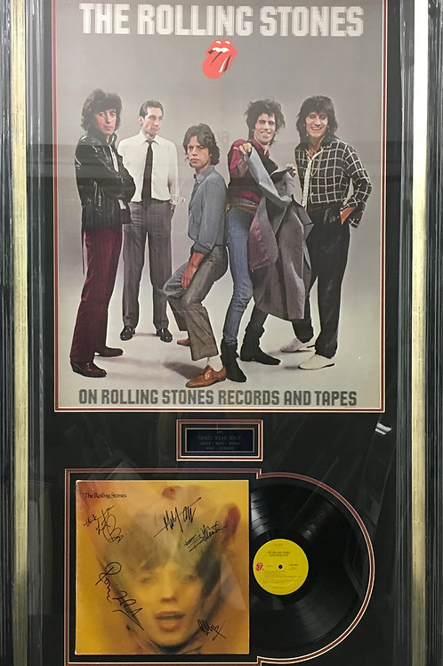 The Rolling Stones Goats Head Soup LP *Signed