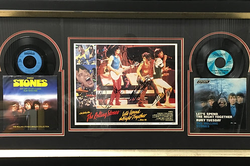 The Rolling Stones movie poster *Signed