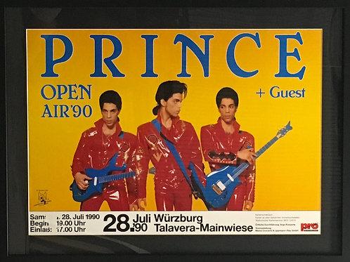 Prince tour poster 1990