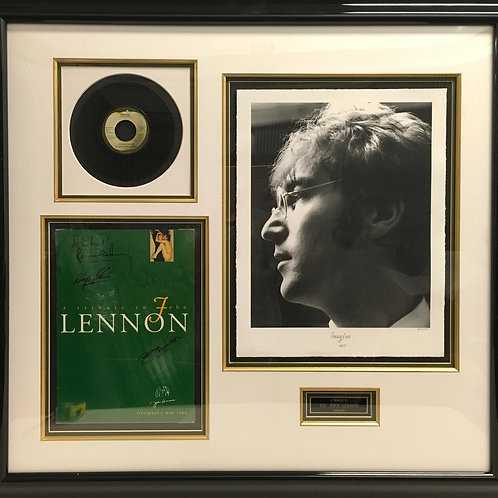 Tribute to John Lennon poster *Signed
