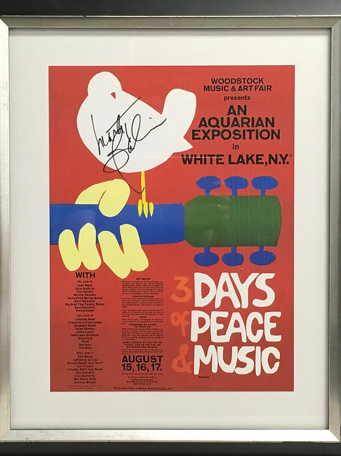 Woodstock poster *Signed