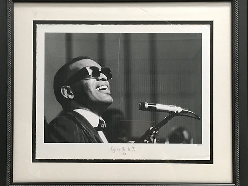 "Ray Charles ""Ray in the U.K. 1963"""