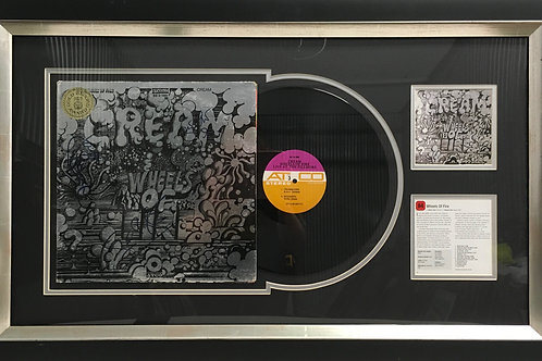 Cream Wheels of Fire LP *Signed