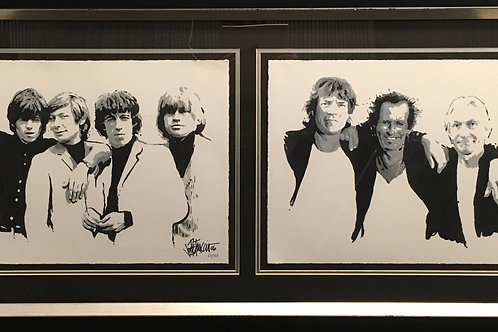 The Rolling Stones by Joe Petruccio *Signed
