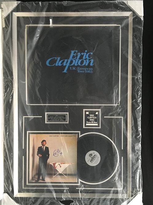 "Eric Clapton ""Money and Cigarettes"" '83 Tour *Signed"