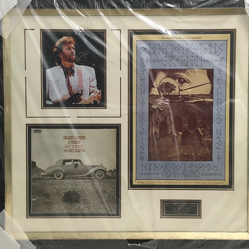"Eric Clapton ""Delaney & Bonnie & Friends"" *Signed"