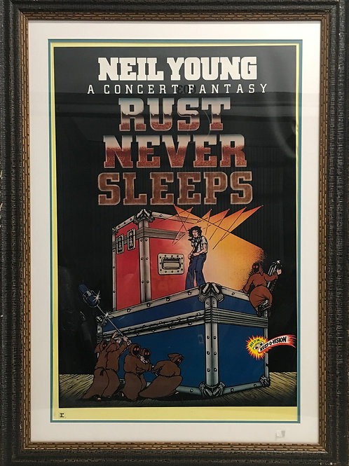 Neil Young Rust Never Sleeps movie poster