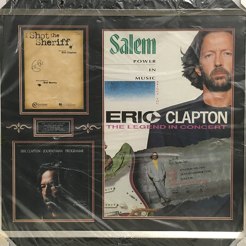 Eric Clapton in Concert *Signed