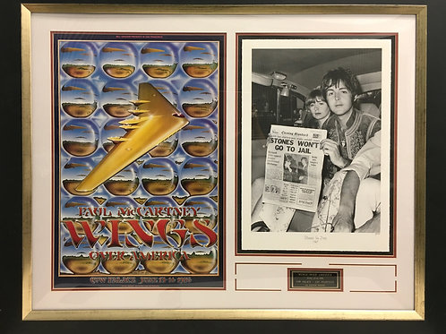"Paul McCartney ""Wings Over America"" poster"