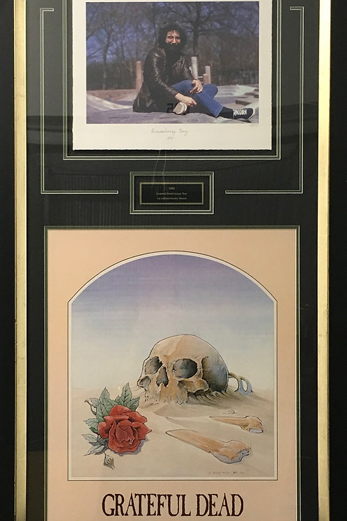 Grateful Dead 1981 Tour Poster