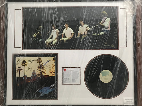 The Eagles -- Hotel California LP *Signed